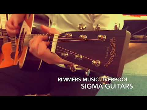 Sigma Guitars at Rimmers Music Liverpool - Rimmers Music
