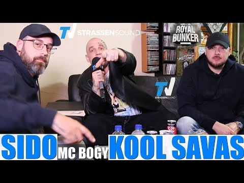 KOOL SAVAS x SIDO EXKLUSIV INTERVIEW mit MC Bogy - Royal Bunker - TV Strassensound