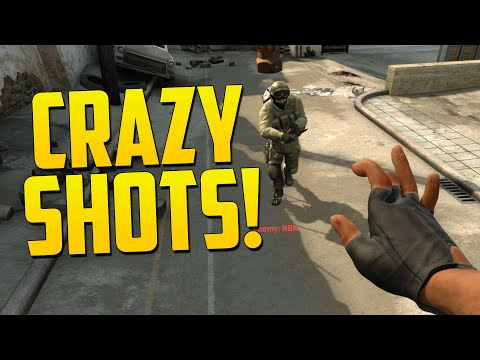 CRAZY SHOTS! - CS GO Funny Moments in Competitive
