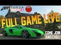 Forza Horizon 4 LIVE - FULL GAME! Buying Supercars, Upgrading & More! COME JOIN!