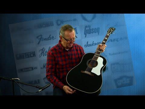 2015 NOS Gibson Ebony Southern Jumbo