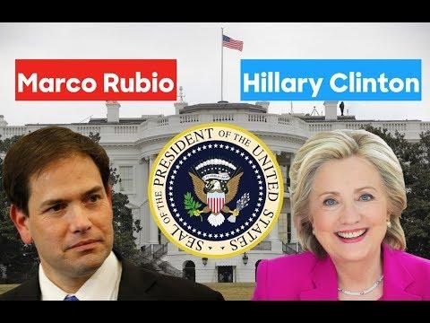 President Hillary Clinton vs Marco Rubio | 2020 Alternative History