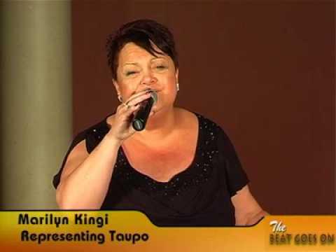 "Marilyn Kingi ""Songbird"" NZ Kaloba 50Plus Karaoke Champs"