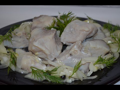 """Маринованная рыба """"Толстолоб"""" (карп,сельдь...). Самый вкусный рецепт приготовления. Рыбная закуска !"""