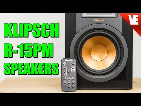 RECORD PLAYER SPEAKERS: Klipsch R-15PM Speaker Review