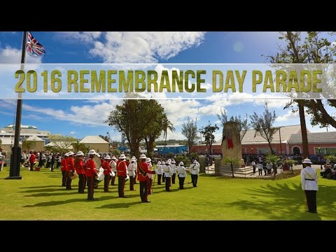 Bermuda Remembrance Day Parade, November 2016