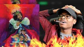 Mumble Rap Takes An L J Cole - KOD  Full Album Review Reaction