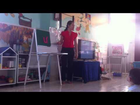 mầm non: tiết dạy chữ cái u, ư cho trẻ lớp lá (Phát triển ngôn ngữ)