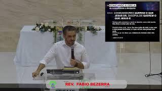 LIVE - IPMN -ESTUDO BIBLICO -  TEMA : REINICIANDO A IGREJA DE CONSUMIDORES A DISCÍPULOS . REV. FABIO