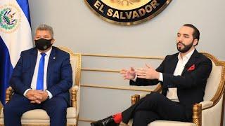 #ENVIVO Presidente Nayib Bukele brinda Conferencia de Prensa de Ultima Hora
