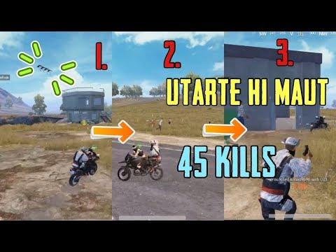 How Conquerors wipe out half the Server| 45 Squad Kills | Pubg Mobile