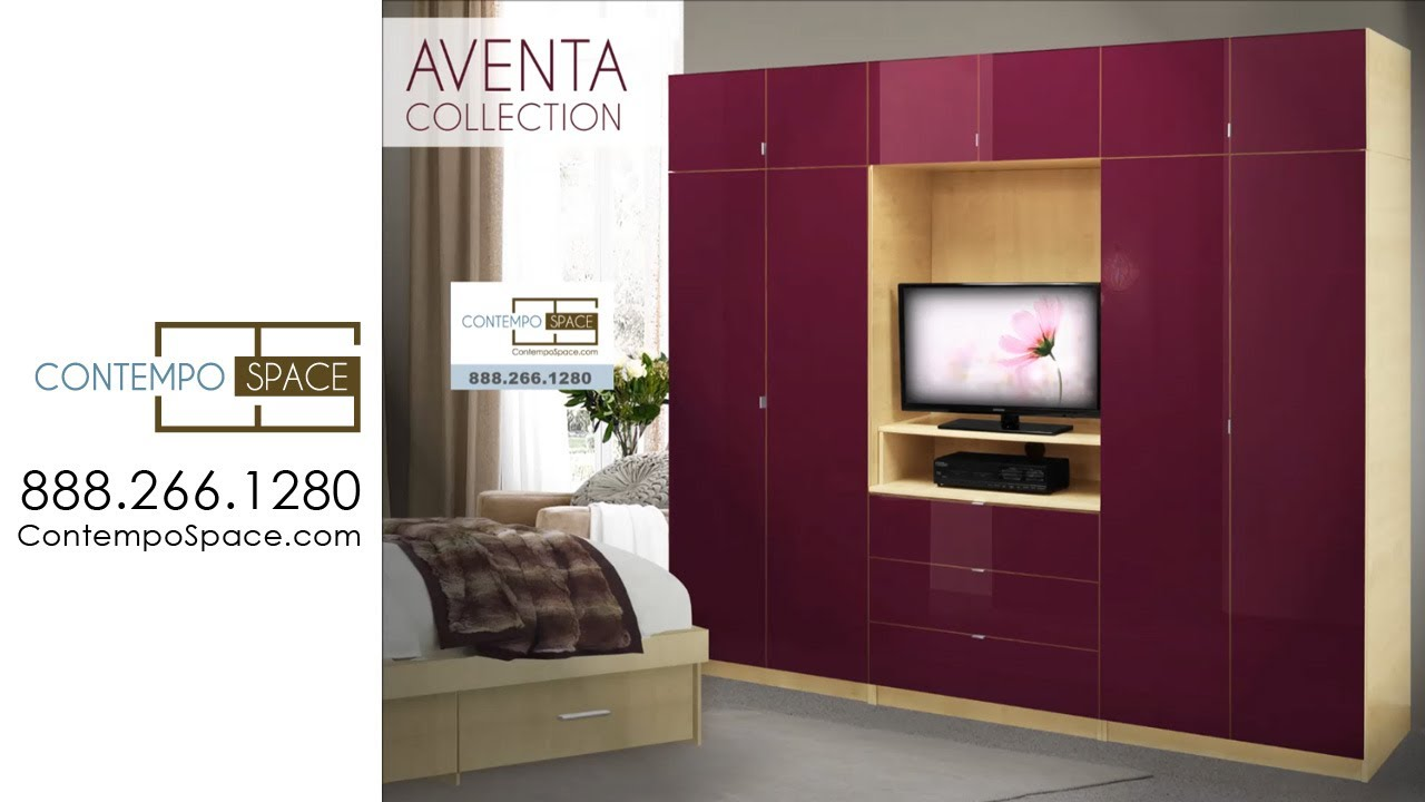Aventa Collection Bedroom Wall Units. Contempo Space