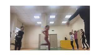 Урок по фитнес-аэробике в школе 25. Физкульт Якутск.