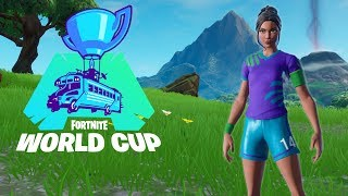 Fortnite WORLD CUP Practice! Sweaty Soccer Skins!