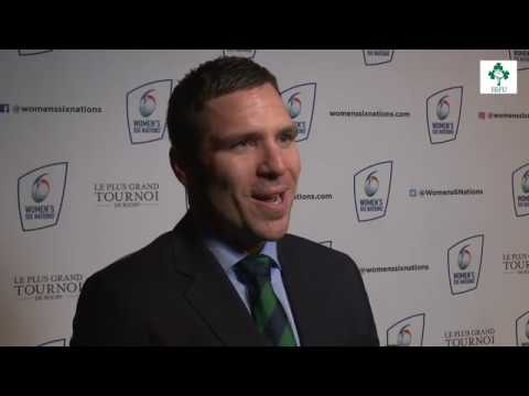 Irish Rugby TV: Adam Griggs At The Women's Six Nations Launch