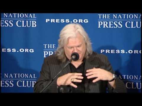 Ricky Skaggs speaks at The National Press Club - Dec. 19, 2013
