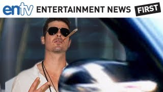 ROBIN THICKE: Busted For Smoking Marijuana: ENTV
