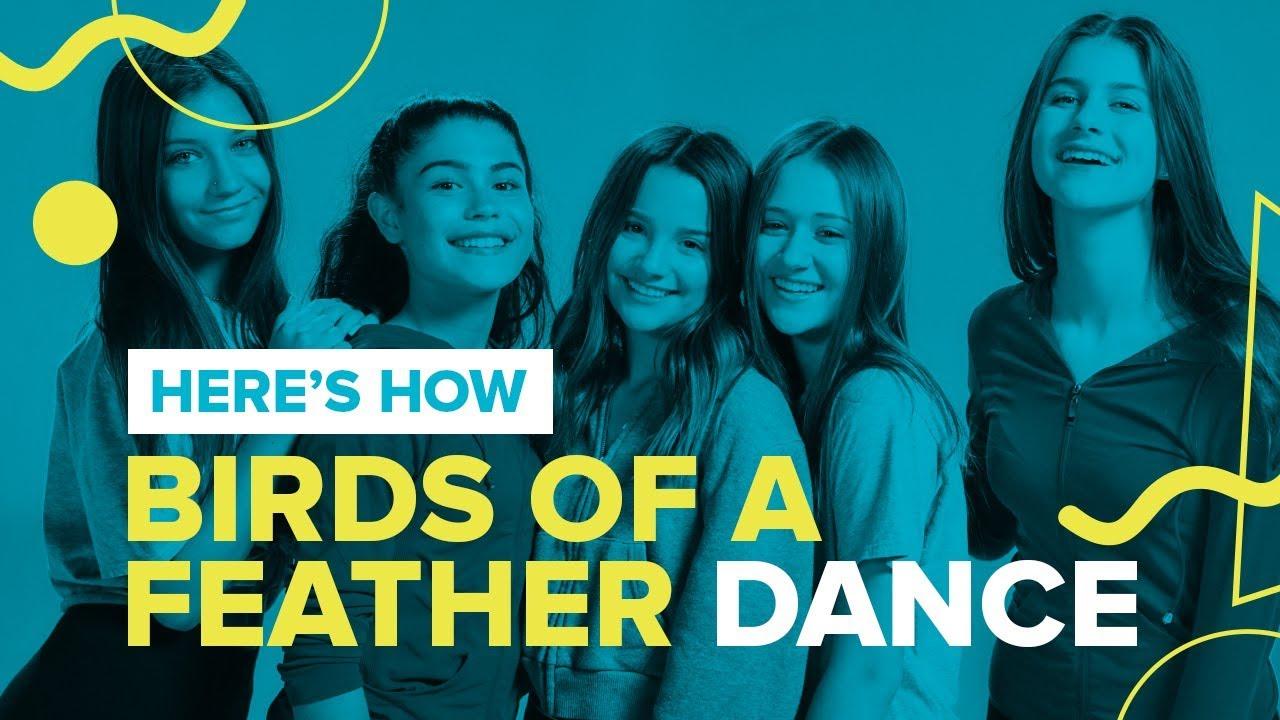 Birds Of A Feather Official Dance Video Chicken Girls Cast