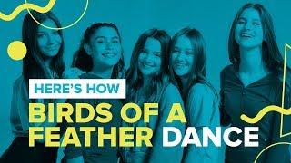 BIRDS OF A FEATHER | Official Dance Video | Chicken Girls Cast