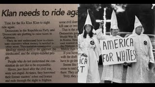 Alabama Newspaper Editor 'Klan Should Ride Again' replaced by African American Woman Scrip