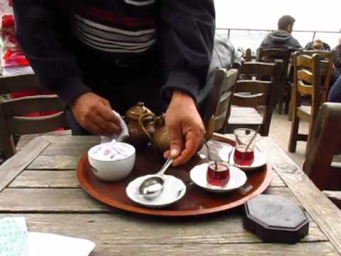 Setustu cay bahcesi Istanbul