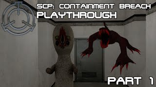 Being sneaky | SCP: Containment Breach - Playthrough [Part 1]
