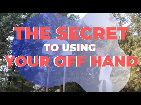 THE SECRET to the OFF HAND: Shoot the basketball with more accuracy!
