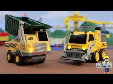 Welcome to The World of Rokenbok Construction Toys
