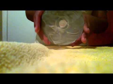 How to clean scratched disk with Colgate toothpaste