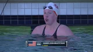 Women's 200m Breast A Final | 2018 TYR Pro Swim Series – Santa Clara