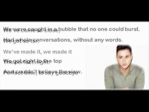 Perfect night (to say goodbye) - Olly Murs Lyric