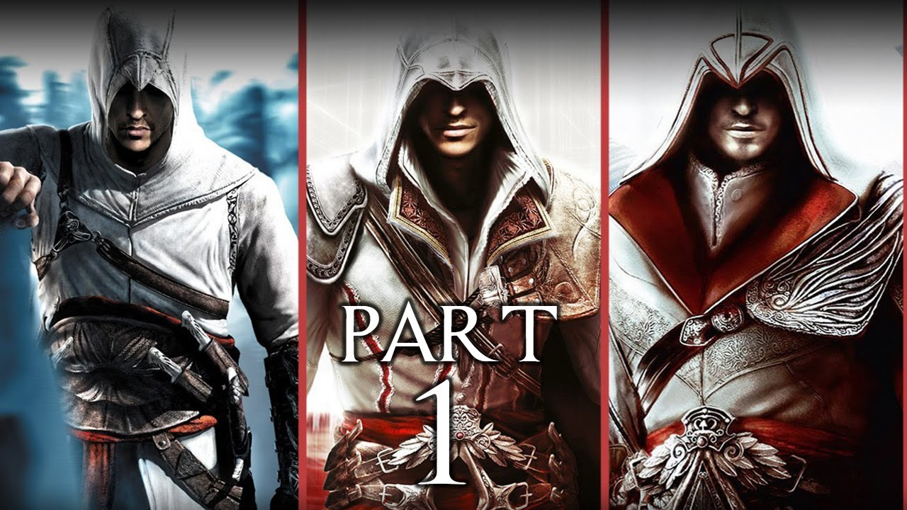 Assassin S Creed Brotherhood Gameplay Walkthrough Part 1 Ezio Auditore Sequence 1
