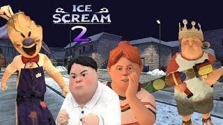 Rencana Busuk Penjual Es Krim - ICE SCREAM Episode 2 : Horror Neighborhood