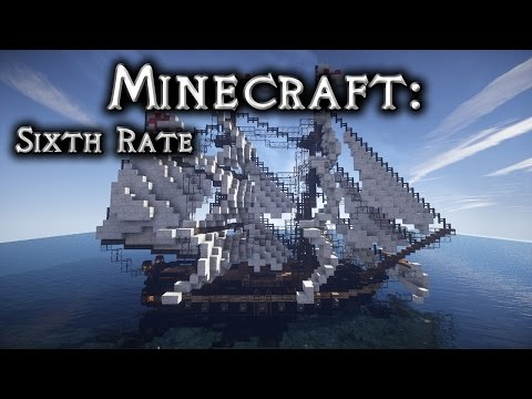 Minecraft: Sixth Rate Ship of the Line Tutorial