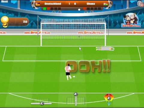 FuГџball Elfmeter Spiele