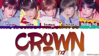 TXT - 'CROWN' Lyrics [Color Coded_Han_Rom_Eng]