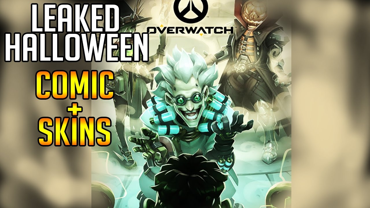 Overwatch News - Halloween Comic & Legendary Skins Leaked - YouTube