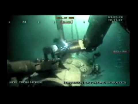 Deepwater Horizon: ROV conducts subsea operations