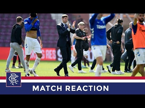 REACTION | Steven Gerrard | Hearts 1-3 Rangers