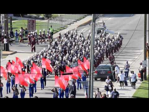 SCSU-Marching In vs BCU 2012