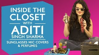 Inside the wardrobe with Aditi Singh Sharma - Sunglasses and Mic Covers Edition | S01E12 | Fashion