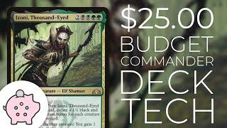 Izoni, Thousand-Eyed | EDH Budget Deck Tech $25 | Aristocrats | Magic the Gathering | Commander