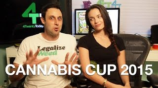 420 Today - We're Going to Cannabis Cup 2015