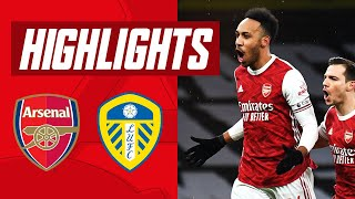 AUBA WITH A HAT-TRICK! | Arsenal vs Leeds (4-2) | Premier League