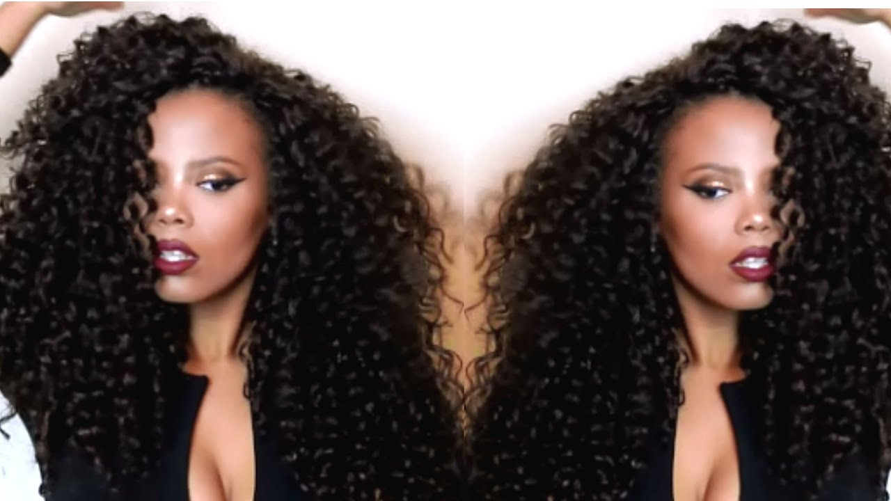 MY FABULOUSSS CROCHET BRAIDS ft. OUTRE BAHAMAS CURL - YouTube