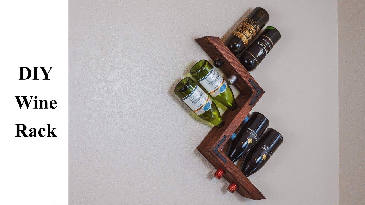 Diy Floating Wine Rack Build It