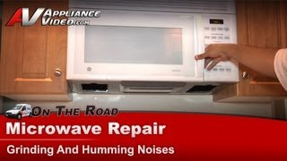 GE,Hotpoint,RCA - Microwave Repair - Grinding And Humming Noises - JVM1540W53