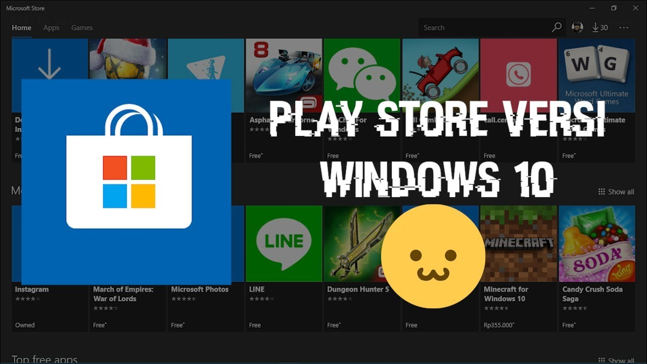 Cara Instal Aplikasi Mobile Di Windows 10 Versi 1803 Youtube