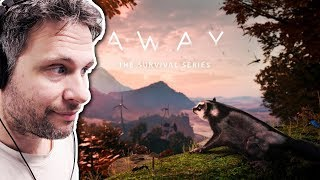 AWAY The Survival Series - Gliding Prototype - SIMULADOR DE ESQUILO VOADOR #awayseries