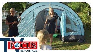 Camping extrem: Zelten mİt der Großfamilie | Teil 2 | Focus TV Reportage